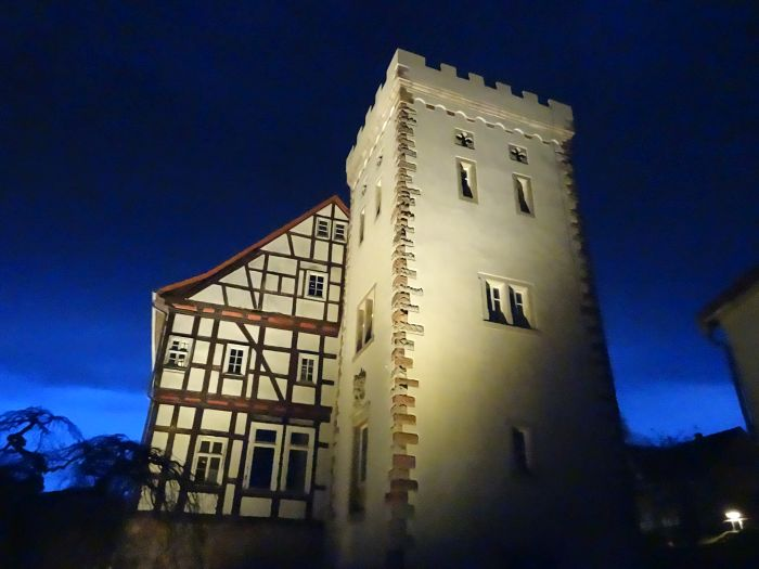 Schloss Buchenau Generalshaus Turm