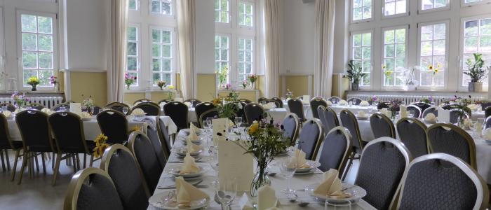 gr. Saal Schloss Feier